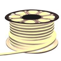 Неон гибкий General, сечение 8х16 мм., Тёплый белый свет, 504011