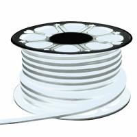 Неон гибкий General, сечение 8х16 мм., Холодный белый свет, 504111