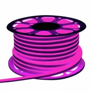 Неон гибкий General, сечение 16х16 мм., Розовый свет, 505312