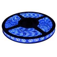 Лента светодиодная General на 60 диодов (ширина 8 мм) 4.8 Вт/м, Синий свет, 500810