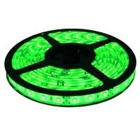 Лента светодиодная General на 60 диодов (ширина 8 мм) 4.8 Вт/м, Зеленый свет, 5007
