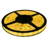 Лента светодиодная General на 60 диодов (ширина 8 мм) 4.8 Вт/м, Желтый свет, 5009