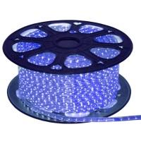 Лента светодиодная General на 60 диодов (сечение 6х11 мм) 4.8 Вт/м, Синий свет, 504410