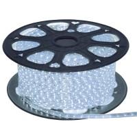 Лента светодиодная General на 120 диодов (сечение 8х22 мм) 9.6 Вт/м, Холодный белый свет, 5045