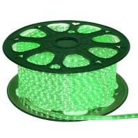 Лента светодиодная General на 60 диодов (сечение 6х11 мм) 4.8 Вт/м, Зеленый свет, 504310