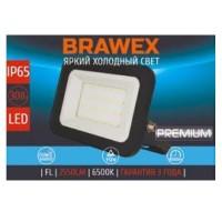 Прожектор светодиодный Brawex, 30 Вт., (Холодный белый свет), П-01