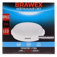 Светильник светодиодный накладной Brawex, 20 Вт., Холодный белый свет, СВ-03