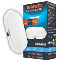 Светильник светодиодный накладной Brawex, 15 Вт., Холодный белый свет, СВ-06