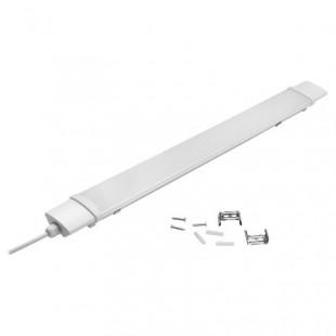 Светильник светодиодный накладной промышленный линейный с EMC General GCT 18 Вт, Нейтральный белый свет, 440037