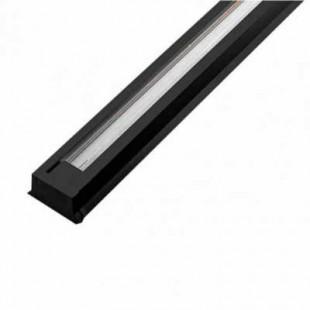 Шинопровод однофазный однометровый черный General, 581120
