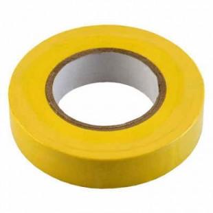 Изолента ПВХ желтая General GIT-15-19-20-Y, 475030