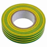 Изолента ПВХ желто-зеленая General GIT-13-15-10-YG, 475005