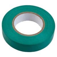 Изолента ПВХ зеленая General GIT-13-15-10-G, 475006