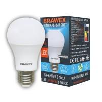 Лампа светодиодная Brawex (грушевидная матовая) 16Вт., Нейтральный белый свет, цоколь Е27, А-06