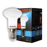Лампа светодиодная Brawex (Рефлекторная R39) 3,5Вт., Нейтральный белый свет, цоколь Е14, Р-04