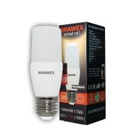 Лампа светодиодная Brawex (широкий угол) 10Вт., Тёплый белый свет, цоколь Е27, Ш-03