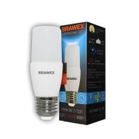 Лампа светодиодная Brawex (широкий угол) 10Вт., Нейтральный белый свет, цоколь Е27, Ш-04