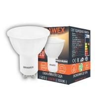 Лампа светодиодная Brawex (PAR16) 7Вт., Тёплый белый свет, цоколь GU10, Т-05