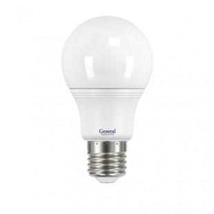 Лампа светодиодная General (грушевидная матовая) 7Вт., Нейтральный белый свет, цоколь Е27, 660146