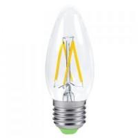 Лампа светодиодная филаментная диммируемая General (свеча) 8Вт., Теплый белый свет, цоколь Е14, 686700