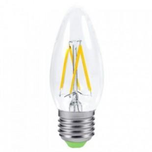 Лампа светодиодная филаментная диммируемая General (свеча) 8Вт., Нейтральный белый свет, цоколь Е14, 686800