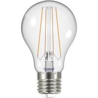 Лампа светодиодная филаментная General (грушевидная) 13Вт., Холодный белый свет, цоколь Е27, 649400