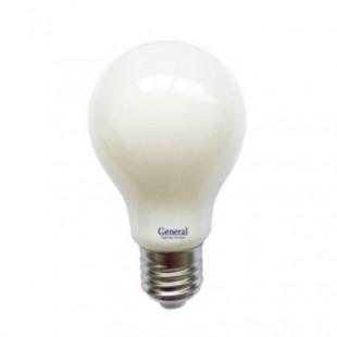 Лампа светодиодная филаментная General (грушевидная матовая) 13Вт., Тёплый белый свет, цоколь Е27, 649938
